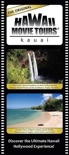 Hollywood in Hawaii movie tour, Kauai