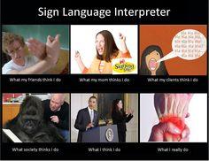 Not an interpreter, but this is amusing.
