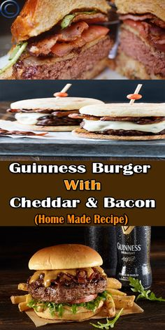 Ingredients: 1 pound ground beef 2 tablespoons finely minced onion 1 garlic clove, minced 2 teaspoons Dijon mustard 1/4 cup Guinness beer 1/2 tablespoon olive oil 1 teaspoon salt 1/4 teaspoon pepper and more...