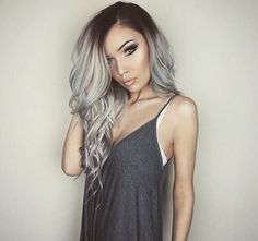 JessJaneMakeup's Silver Hair