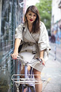 Rachel Khoo - always well dressed with impeccable make up, plus her beautiful kitchen!