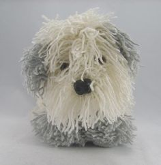 old english sheepdog painting - Buscar con Google