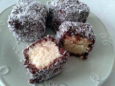 lamington cake Receita da Sandra Peres