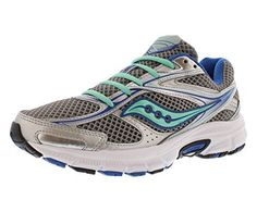255adc72 Saucony Grid Cohesion 8 Womens Running Shoe Size US 7 Regular Width Color  SilverBlueMint * Visit the image link more details. (This is an affiliate  link)