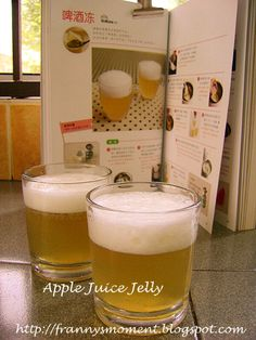 Is not a beer, is jelly.... - 14件のもぐもぐ - 啤酒冻 Apple jelly by Franny