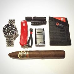Everyday Carry - 28/M/Germany/Technical Draftsman - Weekend Cigar EDC