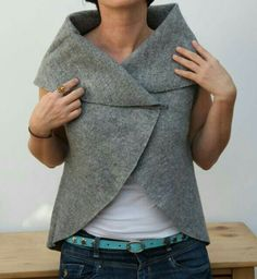 DIY circle vest