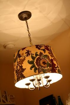 Chandelier Revamp - the original chandelier is almost exactly like ours, which gives me hope that we can make it nice!