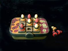 tic tac toe game on Altoid tin (+ many uses for tins) - POTTERY, CERAMICS, POLYMER CLAY