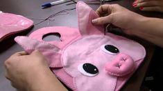 """Mulher.com 26/11/2013 - Lixeirinha para Carro """"Porquinha"""" -  Andrea Quag..."""