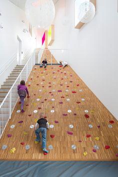 Ama'r Children's Culture House de Dorte Mandrup Arkitekter | Jardins…