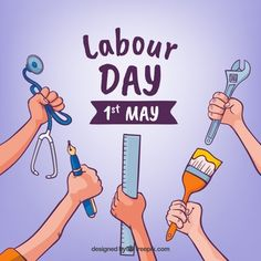 Salute you on a Special Day For all the hard work you do. Celebrate With Joy This very very happy May Workers Day From all of us Labor Day Meme, Labor Day Usa, Labor Day Quotes, Happy Labor Day, Baby Must Haves, Happy May, Are You Happy, Weekender, Holi Greeting Cards