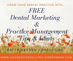 Free Dental Marketing and Practice Management Ideas to help you grow your dental practice. Teeth Health, Dental Health, Dental Care For Kids, Dental Practice Management, Free Dental, Dental Surgery, Dental Services, Teeth Care, Cosmetic Dentistry