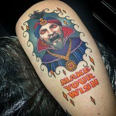 Zoltar Tattoo by Vicky Morgan