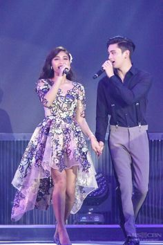 JustLOVEChristmasSpecial (ctto) Christmas Concert, Christmas 2017, Gma Network, James Reid, Nadine Lustre, Jadine, Relationship Goals, Beautiful Pictures, Abs