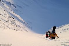 steep & deep - climbing up to the unknown (and unridden) peak #svalbard2015