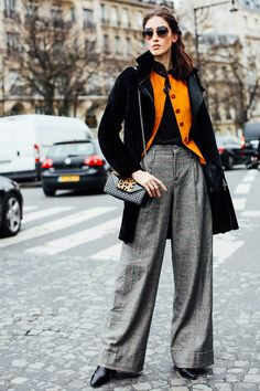 Paris Fashion Week Street Style #PFW #SS16HC