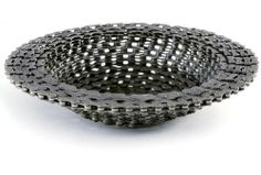 Recycled Bike Chain Bowl by Resource Revival