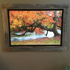 Art by Todd Jones of Muskoka Furniture, frame by me Todd Jones, Frames, Rustic, Painting, Furniture, Art, Country Primitive, Art Background, Rustic Feel