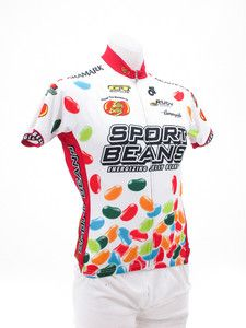 Jelly Belly Large Short Sleeve Jersey Champ-Sys Pro Cut MTB Road Cycling LG