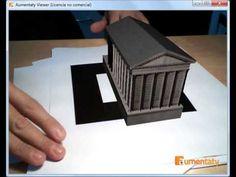 Arquitectura romana en Realidad Aumentada