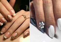 Сказочно красивые идеи маникюра для тебя Nails, Health, Floral, Flowers, Women, Diet, Finger Nails, Ongles, Health Care