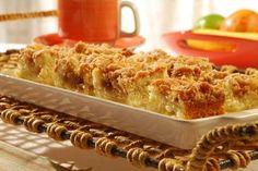 Receita de Cuca de maçã | Show de Receitas