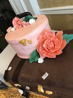 Farewell Cake, Decadent Cakes, Gum Paste Flowers, Sugar Art, Wedding Cakes, The Incredibles, Birthday, Desserts, Food