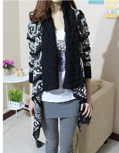 2015 Autumn and Winter Cardigan Fashion Women Sweater Women Big Casual Knitting Sweater Women. Click visit to buy #WomenCardigan