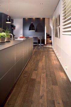 Un parquet massif, 100% bois, beautiful floor #flooring #plancher