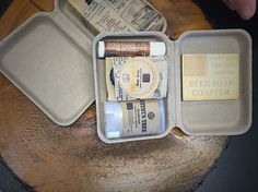Our Goods to Go is a great travel size Beer Soap, Natural Products, Travel Size Products, Shower, Rain Shower Heads, Showers