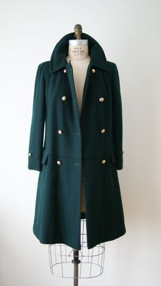 60s Wool Coat. Vintage Mod Jacket. Women's by NewOldFashionVintage