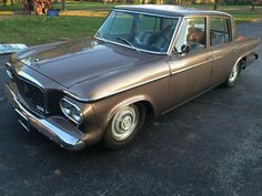 1963 Studebaker Lark, my Grandmother's car, never should have sold this one!!  1987