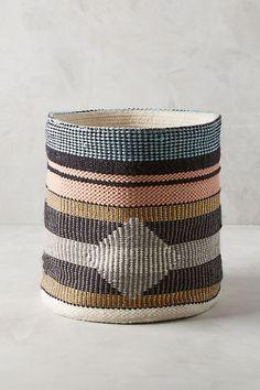 See this Tasseled Pera Basket from Anthropologie. Big Indoor Plants, Hanging Plants Outdoor, Anthropologie, Chenille Blanket, Decorative Storage, Cozy Bedroom, Bedroom Ideas, Living Room Inspiration, Tulum