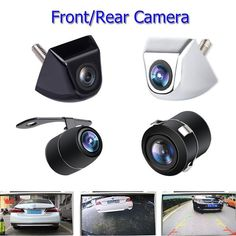 Inventive Car Rear View Reverse Backup Parking Camera License Plate Night Vision 170° Ntsc Elegant Appearance Consumer Electronics