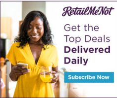 ***SAVE BIG*** On Today's Trending Deals --> Check Out RetailMeNot!