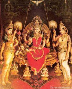 Sri Raja Rajeshwari by Sri Shilpi Siddalingaswamy