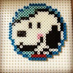 Snoopy perler beads by yasumi.h1122
