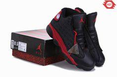 2014 Chaussure Air Jordan Retro XIII 13 Chalcedony Homme Noir Rouge 382335 RURO