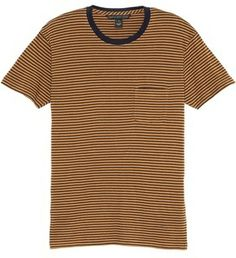 Marc by Marc Jacobs Liverpool Stripe Pocket Crew Tee on shopstyle.com
