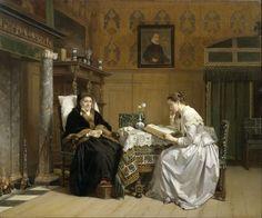 pintura de Hendrik Jacobus Scholten