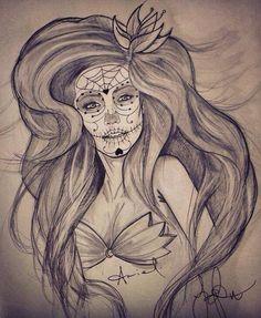 Ariel sugar skull