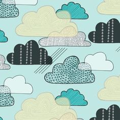 Nubes y lluvia