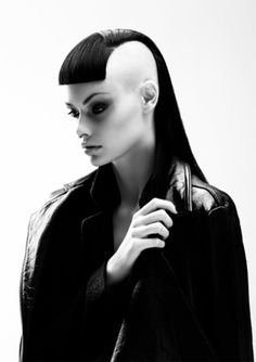 black-white-madness:  Madness:  Hair by Jamie Furlan Xiang Hair Creative Director. SCHWARZKOPF PROFESSIONAL HAIR EXPO AWARDS 2014 EMAERGING HAIRDRESSER OF THE YEAR COLLECTION CREDITS PHOTOGRAPHY: RIBAL & GIL @ SUPERTEAM STUDIOS STYLING: STRATEAS.CARLUCCI MAKE-UP: BLONDIE @ VIVIENS CREATIVE TALENT: ALICE @ VICIOUS