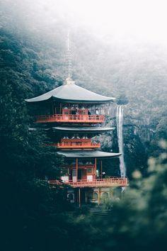 Nachi Falls Wakayama [2160x3240][OC][x-post /r/itookapicture]