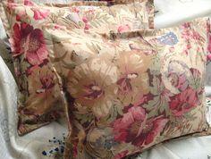 COASTAL GARDEN  Pair Custom Made Decorative Boudoir by Sew1Pretty, $24.00
