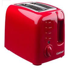 red toaster. To get more information https://www.thekitchentimes.com/2017/01/5-red-toasters/
