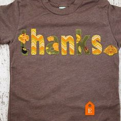 If you can't find this design in my shop and would like to purchase it please contact me through my etsy shop or request a custom listing! It's the little things in life we have to be thankful for. Thanksgiving is only 2 weeks away. We can still get your custom  cozy tees to you in time for stuffing and football. Check out all of our holiday designs in the @lilthreadz etsy shop  #thanksgiving #thankful #turkey #turkeyday #football #cute #gobblegobble