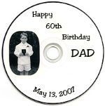 One-of-a-kind birthday experience while watching Dad's life from birth until age 60. Heart-warming. Custom Photo Shows