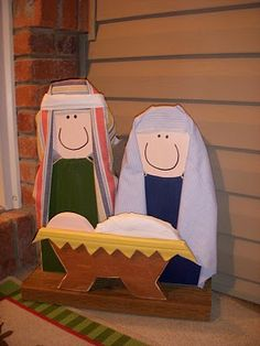 nativity. Cant wait to make for the front yard!!!